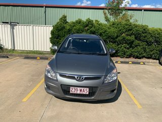 2010 Hyundai i30 FD MY10 Sportswagon cw Wagon Grey 4 Speed Automatic Wagon.