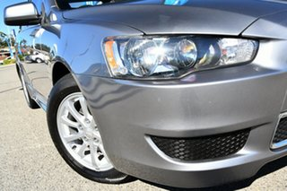 2013 Mitsubishi Lancer CJ MY13 LX Grey 5 Speed Manual Sedan.