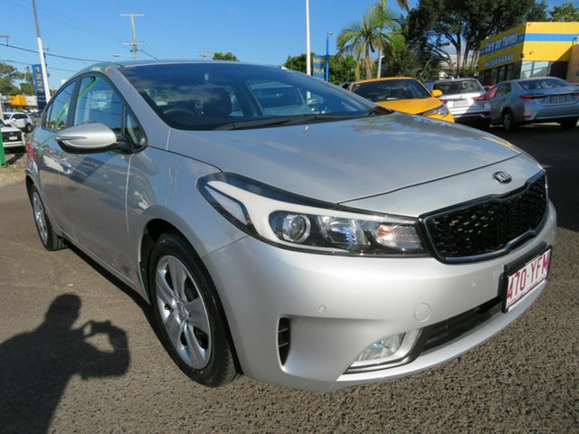 Used Kia Cerato YD MY18 S Mount Gravatt, 2018 Kia Cerato YD MY18 S Silver 6 Speed Sports Automatic Sedan