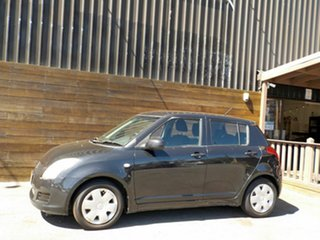 2009 Suzuki Swift RS415 GLX Black 4 Speed Automatic Hatchback.