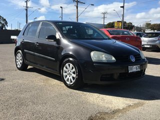 2006 Volkswagen Golf V Comfortline Tiptronic Black 6 Speed Sports Automatic Hatchback.