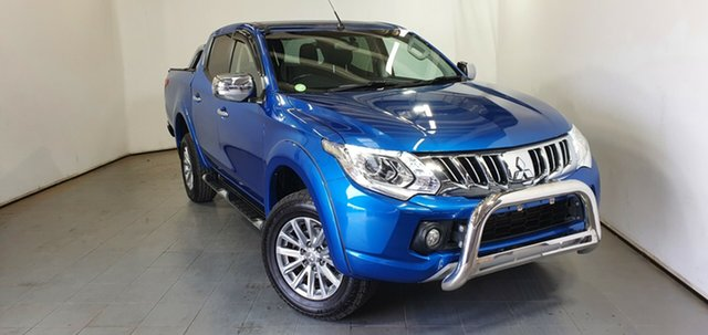 Used Mitsubishi Triton MQ MY16 GLS Double Cab Elizabeth, 2015 Mitsubishi Triton MQ MY16 GLS Double Cab Blue 5 Speed Sports Automatic Utility