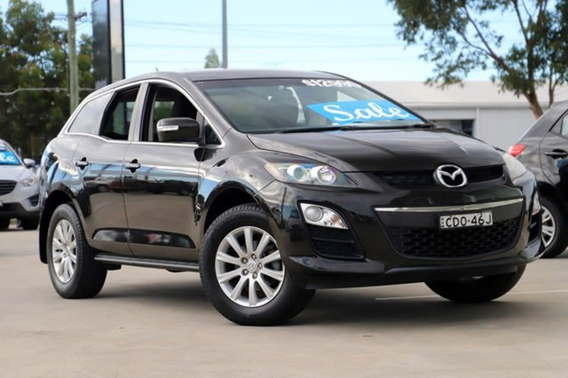 Used Mazda CX-7 ER10L2 Classic Activematic Kirrawee, 2011 Mazda CX-7 ER10L2 Classic Activematic Black 5 Speed Sports Automatic Wagon