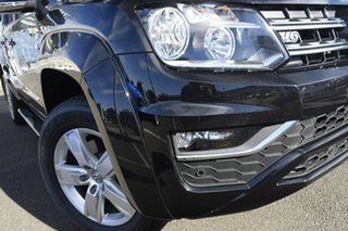 2020 Volkswagen Amarok 2H MY21 TDI550 4MOTION Perm Sportline Deep Black Pearl Effect 8 Speed.