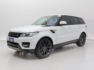 2015 Land Rover Range Rover LW MY15 Sport 3.0 TDV6 SE White 8 Speed Automatic Wagon.