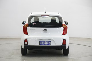 2016 Kia Picanto TA MY17 SI Clear White 4 Speed Automatic Hatchback