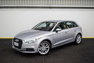 2016 Audi A3 8V MY16 Attraction Sportback S Tronic Silver 7 Speed Sports Automatic Dual Clutch.