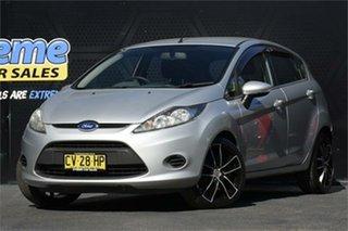 2012 Ford Fiesta WT CL Silver 5 Speed Manual Hatchback.