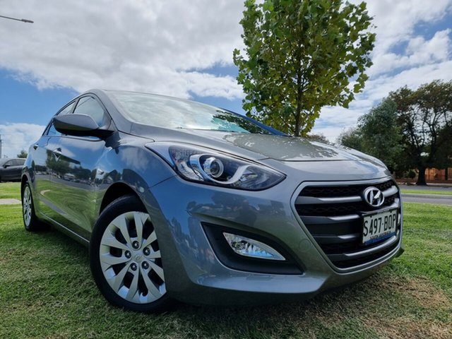 Used Hyundai i30 GD4 Series II MY17 Active Hindmarsh, 2016 Hyundai i30 GD4 Series II MY17 Active Grey 6 Speed Sports Automatic Hatchback