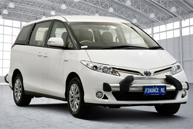 Used Toyota Tarago GSR50R MY13 GLi Victoria Park, 2015 Toyota Tarago GSR50R MY13 GLi White 6 Speed Sports Automatic Wagon