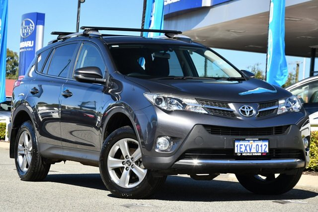 Used Toyota RAV4 ASA44R MY14 GXL AWD Melville, 2015 Toyota RAV4 ASA44R MY14 GXL AWD Grey 6 Speed Sports Automatic Wagon