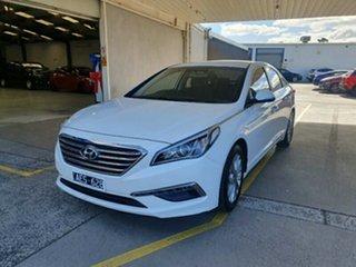2014 Hyundai Sonata LF Active Ice White 6 Speed Sports Automatic Sedan.