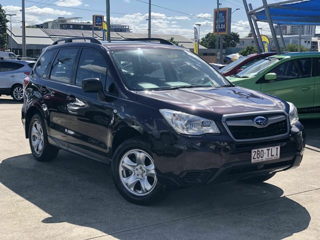 Used Subaru Forester S4 MY13 2.5i Lineartronic AWD Chermside, 2013 Subaru Forester S4 MY13 2.5i Lineartronic AWD Maroon 6 Speed Constant Variable Wagon