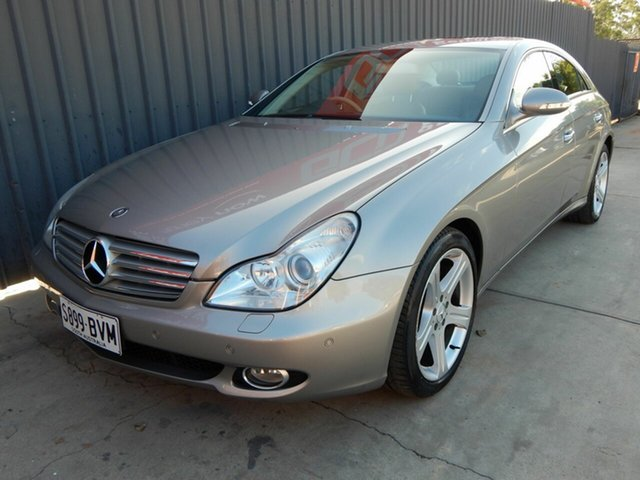 Used Mercedes-Benz CLS-Class C219 MY08 CLS350 Coupe Blair Athol, 2007 Mercedes-Benz CLS-Class C219 MY08 CLS350 Coupe Silver 7 Speed Sports Automatic Sedan