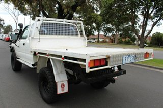 2000 Toyota Hilux LN172R Xtra Cab White 5 Speed Manual Cab Chassis