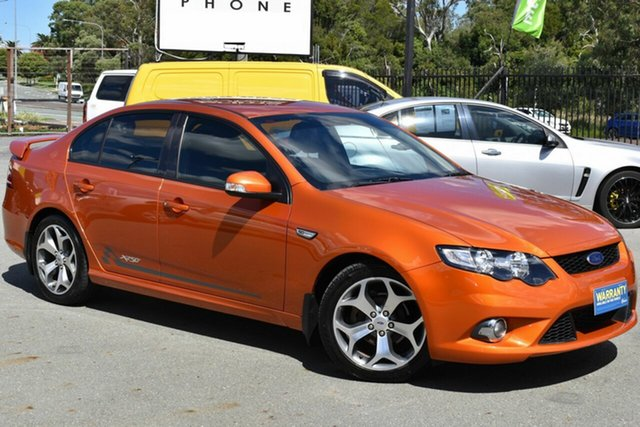 Used Ford Falcon FG Upgrade XR6 50th Anniversary Underwood, 2010 Ford Falcon FG Upgrade XR6 50th Anniversary Orange 6 Speed Auto Seq Sportshift Sedan