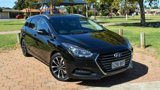 2015 Hyundai i40 VF3 Premium Tourer Black 6 Speed Sports Automatic Wagon.
