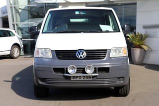 2005 Volkswagen Transporter T5 Low Roof LWB White 5 Speed Manual Van.