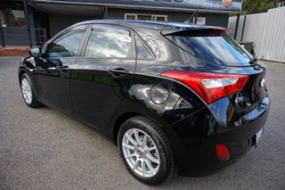 2013 Hyundai i30 GD2 Active Phantom Black 6 Speed Sports Automatic Hatchback.