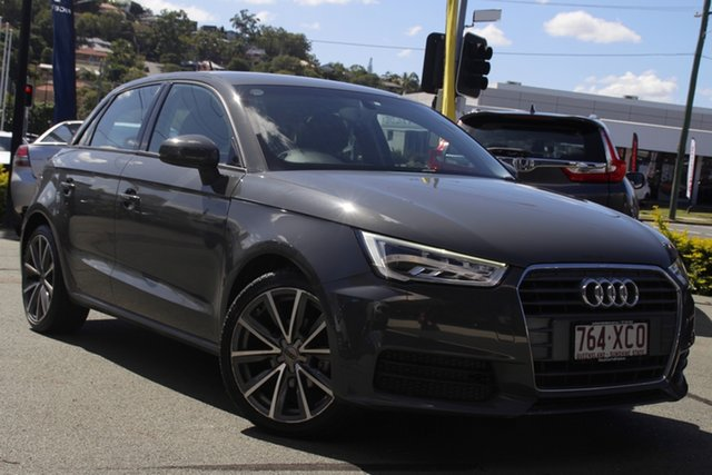 Used Audi A1 8X MY17 Sportback S Tronic Mount Gravatt, 2016 Audi A1 8X MY17 Sportback S Tronic Grey 7 Speed Sports Automatic Dual Clutch Hatchback