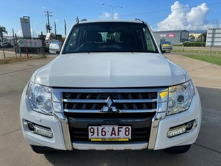 2020 Mitsubishi Pajero NX MY21 Exceed White/250221 5 Speed Sports Automatic Wagon