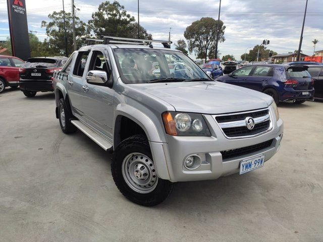 Used Holden Colorado RC MY09 LT-R Crew Cab Liverpool, 2009 Holden Colorado RC MY09 LT-R Crew Cab Silver 5 Speed Manual Utility