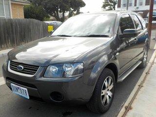 2007 Ford Territory SY TX (RWD) Grey 4 Speed Auto Seq Sportshift Wagon.