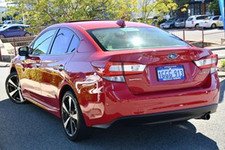 2017 Subaru Impreza G5 MY17 2.0i-S CVT AWD Pure Red 7 Speed Constant Variable Sedan.
