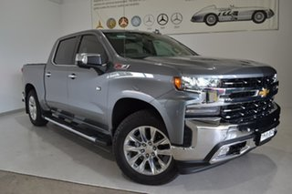 2020 Chevrolet Silverado T1 MY21 Grey 10 Speed Automatic Utility.