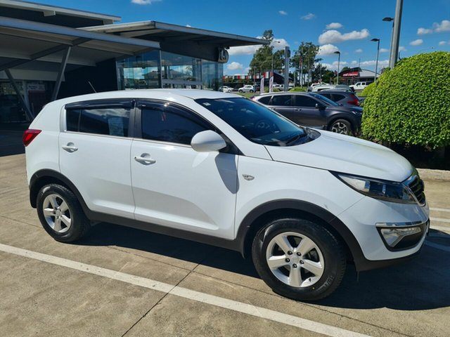 Used Kia Sportage SL MY14 Si 2WD Yamanto, 2014 Kia Sportage SL MY14 Si 2WD White 6 Speed Sports Automatic Wagon