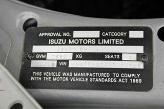 2016 Isuzu D-MAX TF MY15.5 SX HI-Ride (4x2) Silver 5 Speed Automatic Crew Cab Utility