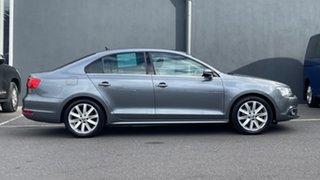 2012 Volkswagen Jetta 1B MY13 118TSI DSG Comfortline Grey 7 Speed Sports Automatic Dual Clutch Sedan.