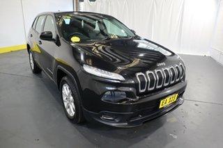 2015 Jeep Cherokee KL MY15 Sport Black/Grey 9 Speed Sports Automatic Wagon.
