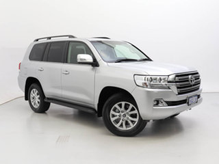 2021 Toyota Landcruiser VDJ200R LC200 VX (4x4) Silver 6 Speed Automatic Wagon.