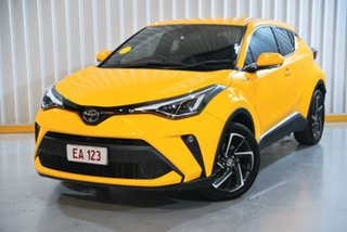 2020 Toyota C-HR ZYX10R Koba E-CVT 2WD Yellow 7 Speed Constant Variable Wagon Hybrid.
