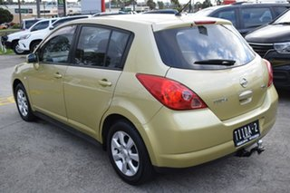 2006 Nissan Tiida C11 ST-L Yellow 4 Speed Automatic Hatchback