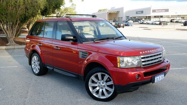 Used Land Rover Range Rover Sport L320 08MY TDV8 Maddington, 2008 Land Rover Range Rover Sport L320 08MY TDV8 Red 6 Speed Sports Automatic Wagon