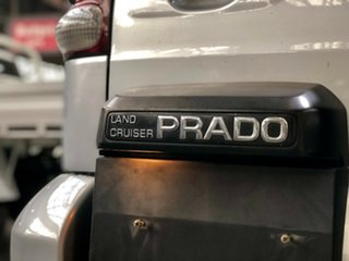 2004 Toyota Landcruiser Prado KZJ120R VX Silver 4 Speed Automatic Wagon