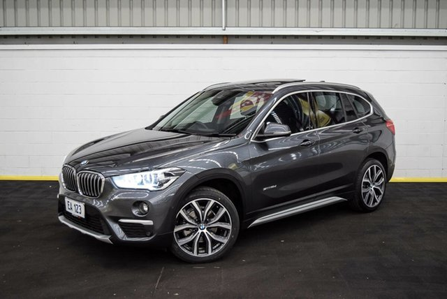 Used BMW X1 F48 sDrive18d Steptronic Canning Vale, 2017 BMW X1 F48 sDrive18d Steptronic Grey 8 Speed Sports Automatic Wagon