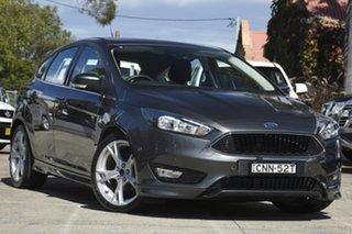2016 Ford Focus LZ Titanium Grey 6 Speed Automatic Hatchback.