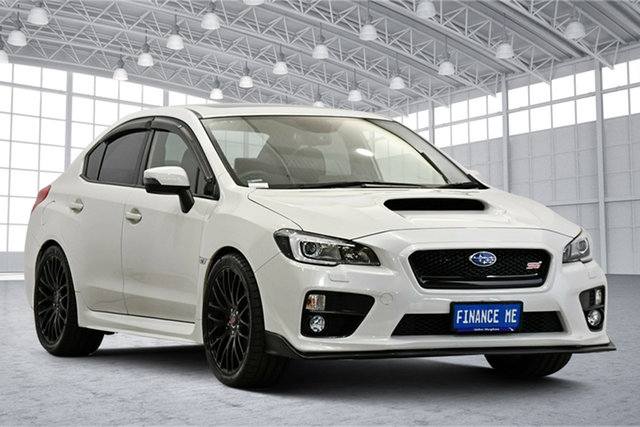 Used Subaru WRX V1 MY17 Premium AWD Victoria Park, 2017 Subaru WRX V1 MY17 Premium AWD White 6 Speed Manual Sedan