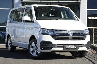 2020 Volkswagen Multivan T6.1 MY21 TDI340 SWB DSG 4MOTION Comfortline Premium Candy White 7 Speed.