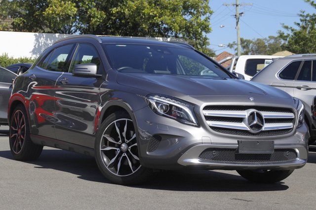 Used Mercedes-Benz GLA-Class X156 807MY GLA250 DCT 4MATIC Mount Gravatt, 2016 Mercedes-Benz GLA-Class X156 807MY GLA250 DCT 4MATIC Grey 7 Speed Sports Automatic Dual Clutch