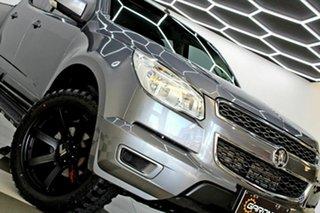 2016 Holden Colorado RG MY16 LS-X (4x4) Grey 6 Speed Automatic Crew Cab Pickup.