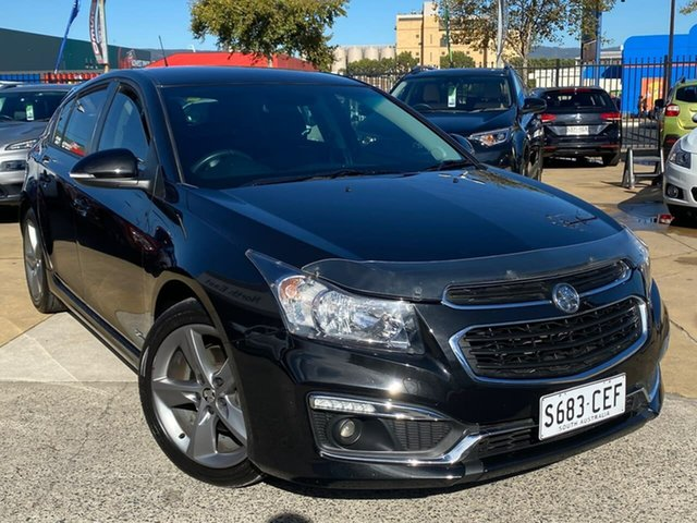 Used Holden Cruze JH Series II MY16 SRI Z-Series Hillcrest, 2016 Holden Cruze JH Series II MY16 SRI Z-Series Black 6 Speed Manual Hatchback