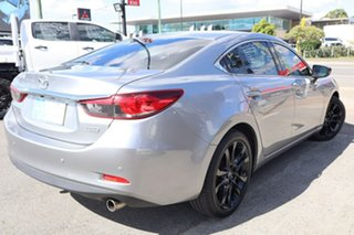 2013 Mazda 6 GJ1021 GT SKYACTIV-Drive Silver 6 Speed Sports Automatic Sedan.