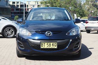 2012 Mazda 2 DE MY13 Neo Blue 4 Speed Automatic Hatchback