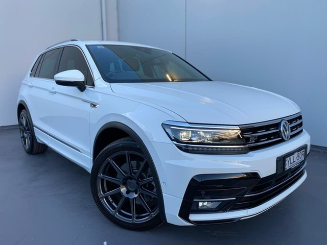 Used Volkswagen Tiguan 5N MY19.5 162TSI DSG 4MOTION Highline Liverpool, 2019 Volkswagen Tiguan 5N MY19.5 162TSI DSG 4MOTION Highline White 7 Speed