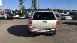 2013 Isuzu D-MAX MY14 LS-U Crew Cab Beige 5 Speed Sports Automatic Utility