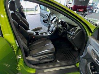 2015 Holden Commodore VF MY15 SV6 Lightning Green 6 Speed Sports Automatic Sedan